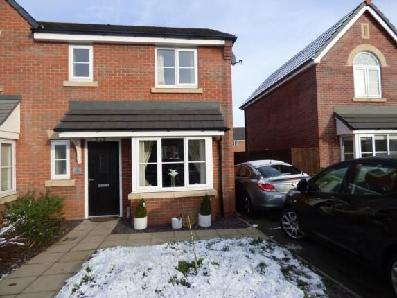 3 bed semi-detached house for sale in Kingfisher Crescent, Sandbach, Cheshire