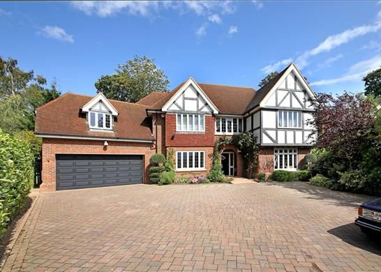 Thumbnail Detached house for sale in Heath Close, Virginia Water, Surrey