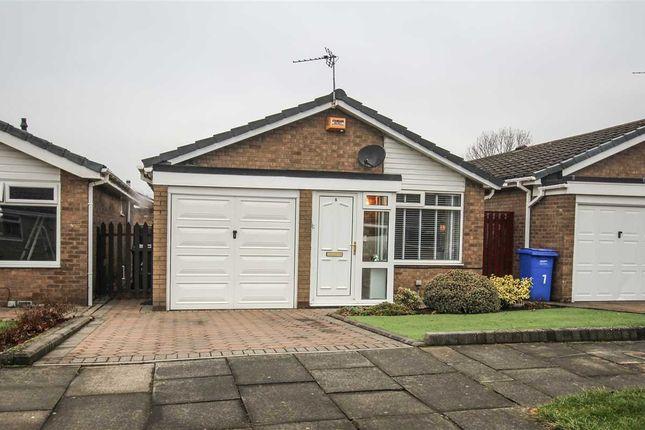 Thumbnail Bungalow to rent in Gresham Close, Southfield Green, Cramlington