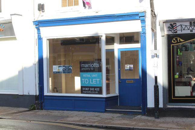 Thumbnail Retail premises to let in Cornmarket, Faringdon