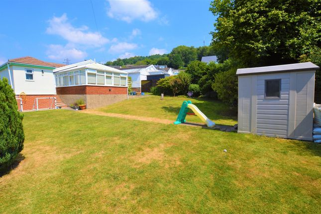 Thumbnail Detached bungalow for sale in Hilltop Crescent, Pontypridd