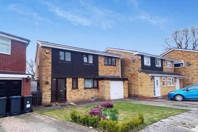 Thumbnail 4 bed detached house for sale in Sunningdale Close, Handsworth Wood, Birmingham