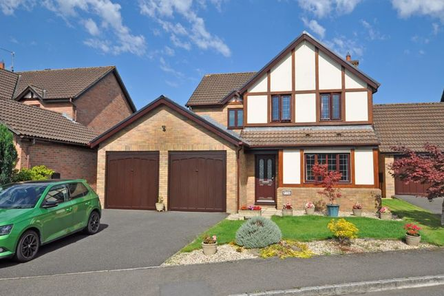 Thumbnail Detached house for sale in Luxury Family House, Candwr Park, Ponthir