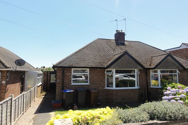 Thumbnail Semi-detached bungalow to rent in Ryland Road, Northampton