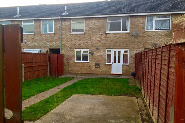 Thumbnail Terraced house to rent in Nene Court, Grantham