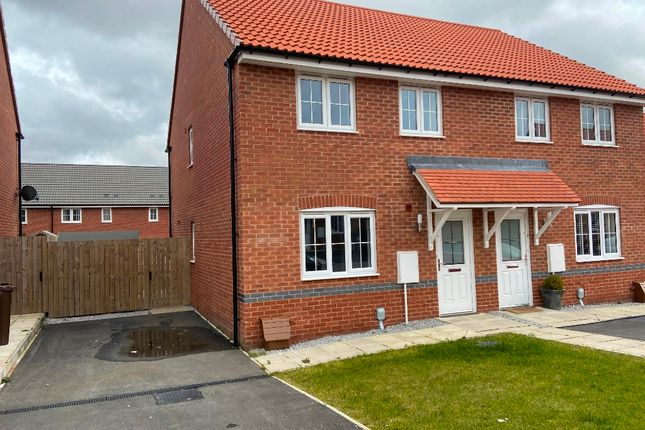 Thumbnail Semi-detached house to rent in Wren Close, Beverley