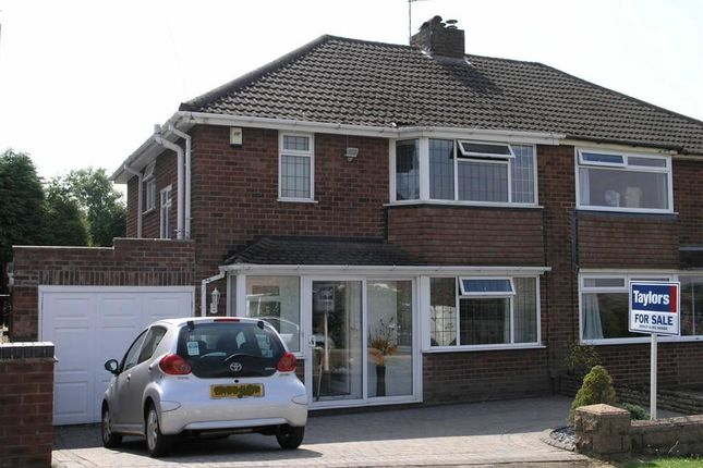 Thumbnail Semi-detached house for sale in Woodbank Road, Brownswall Estate, Sedgley