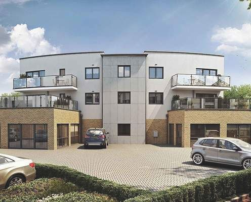 Thumbnail Flat for sale in St Marys Island, Chatham, Maritime Kent