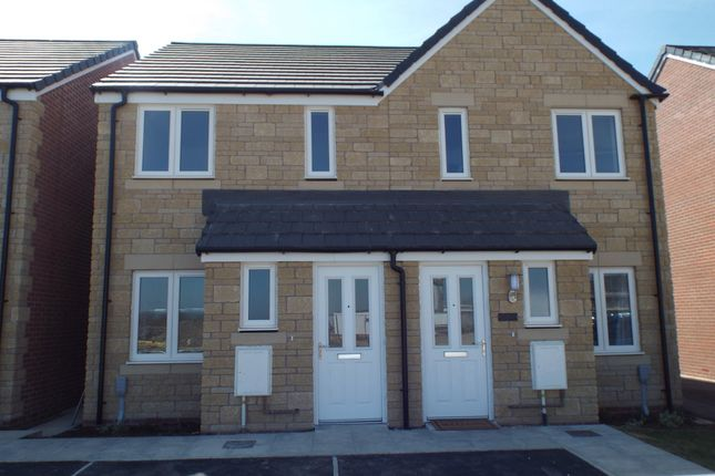 Thumbnail Semi-detached house to rent in Beech Close, Chippenham, Wiltshire