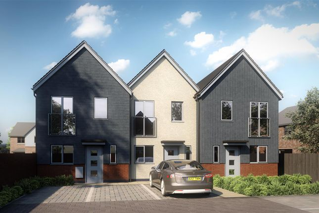 Thumbnail Town house for sale in Ridgemere Close, Yardley, Birmingham