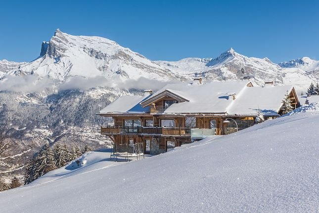 Chalet Exterior of Megeve, Rhones Alps, France