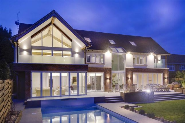 Thumbnail Detached house for sale in Walmar Close, Hadley Wood, Hertfordshire