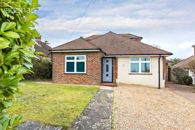 Thumbnail Detached bungalow for sale in Glen Rise, Westdene, Brighton