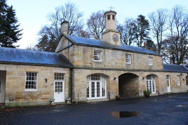 Thumbnail Cottage to rent in Mitford Hall Estate, Mitford, Morpeth