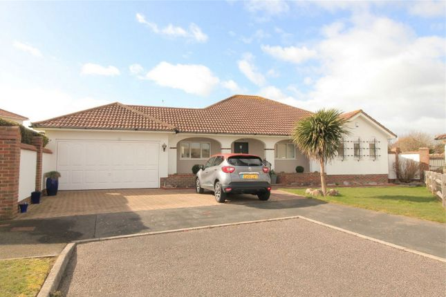 Thumbnail Detached bungalow for sale in Winceby Close, Bexhill On Sea, East Sussex