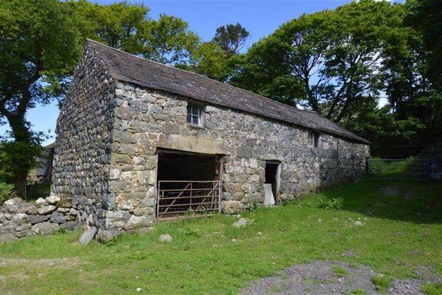 Thumbnail Land for sale in Land And Buildings, Trefaes, Rhoslefain, Gwynedd