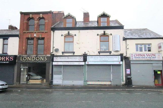 Thumbnail Retail premises for sale in Bolton Road, Blackburn