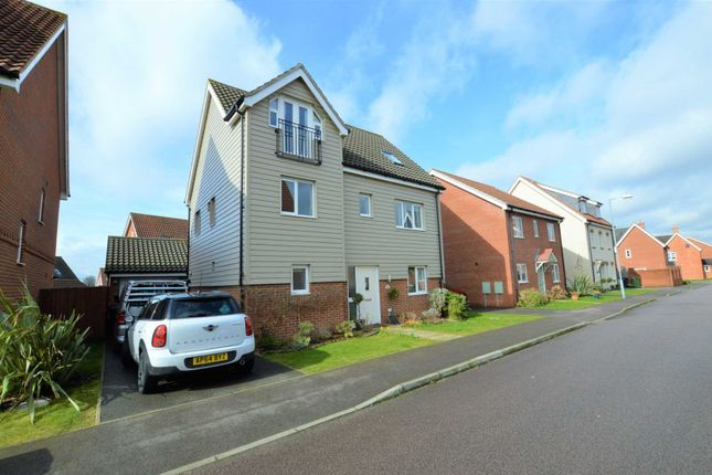 Thumbnail Detached house for sale in Lobelia Lane, Cringleford, Norwich