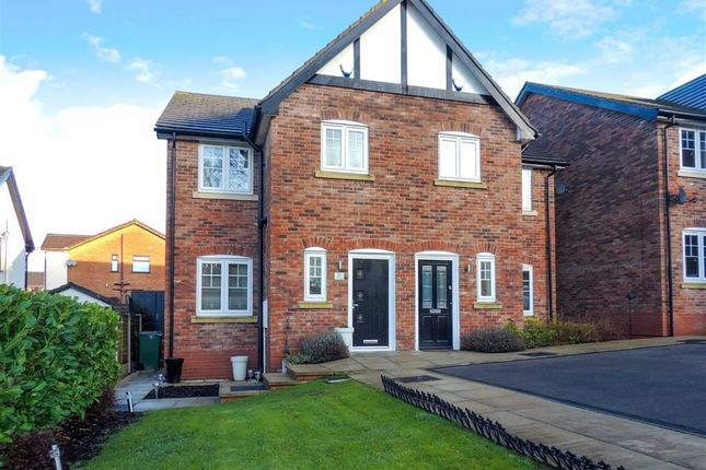 Thumbnail Semi-detached house for sale in Manor Road, Woodley, Stockport