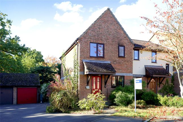 Thumbnail End terrace house for sale in Beveren Close, Fleet