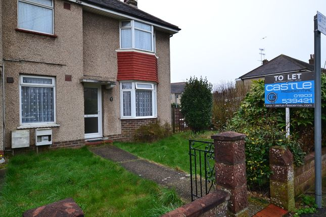 Thumbnail Link-detached house to rent in Centrecourt Road, Broadwater, Worthing