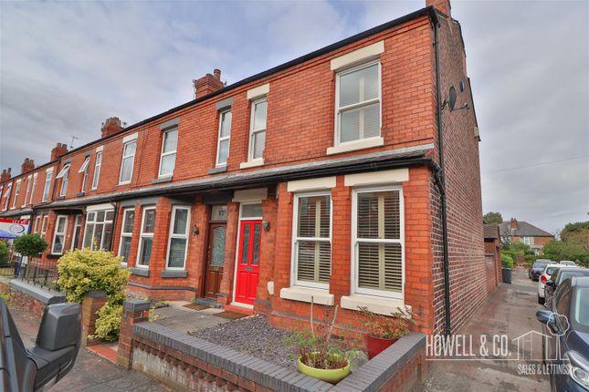 Thumbnail End terrace house to rent in Warburton Street, Stockton Heath, Warrington