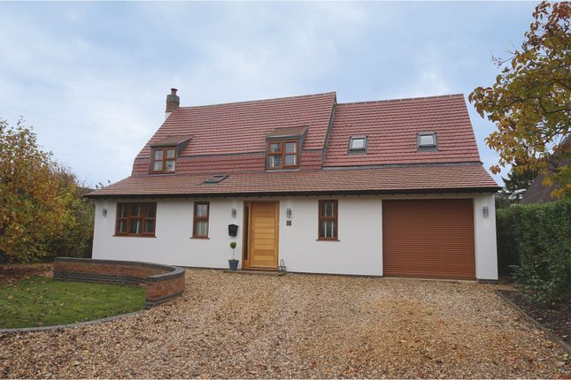 Thumbnail Detached house for sale in Kingsfield Road, Cosby, Leicester