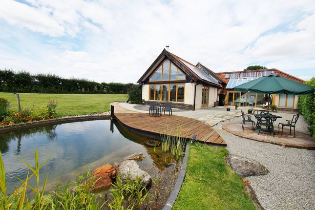 Thumbnail Barn conversion for sale in Church Lane, Hackford, Wymondham