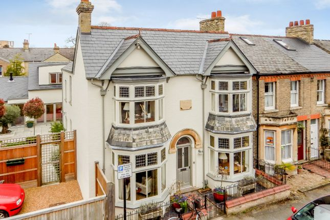 Thumbnail End terrace house for sale in Marshall Road, Cambridge