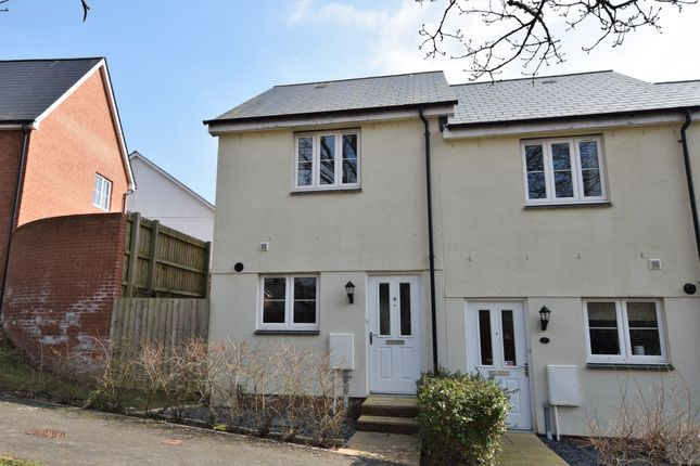 Thumbnail Semi-detached house to rent in Betjeman Close, Sidford, Sidmouth