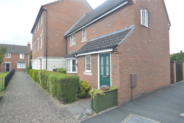 Thumbnail End terrace house for sale in Clifford Avenue, Walton Cardiff, Tewkesbury, Gloucestershire