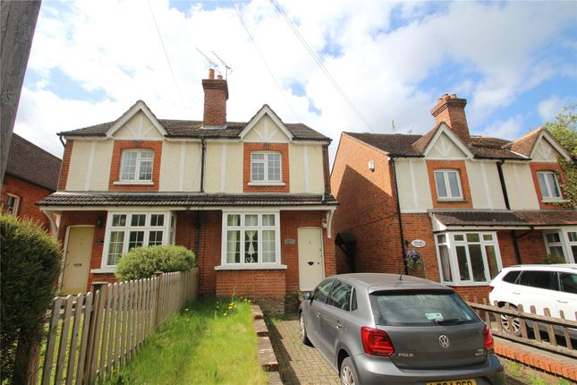 2 bed semi-detached house to rent in Waltham Cottages, Rickford, Worplesdon, Guildford GU3