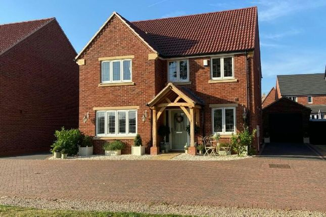 Thumbnail Detached house for sale in Windsor Way, Broughton Astley, Leicester