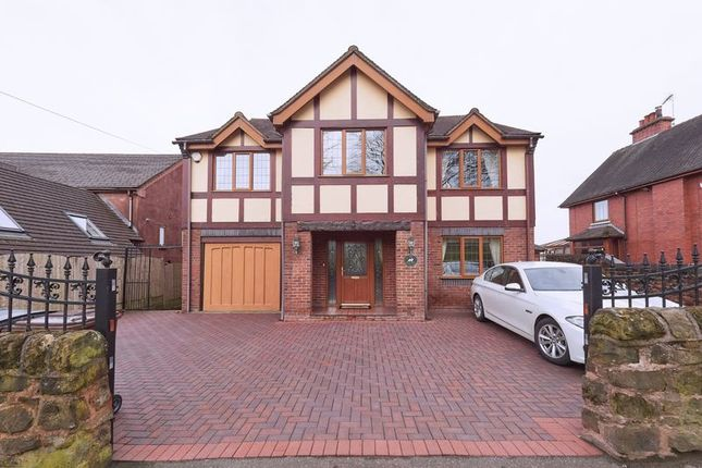 Thumbnail Detached house for sale in Leek Road, Wetley Rocks, Stoke-On-Trent