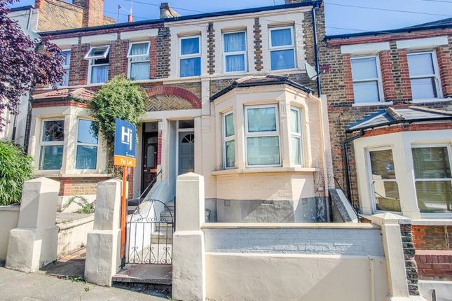 Thumbnail Terraced house to rent in Leghorn Road, London