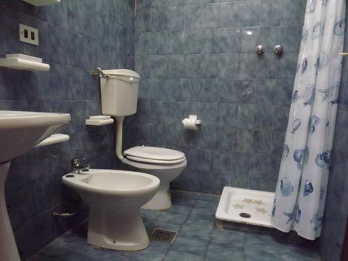 Bathroom of Via Pitagora, Scalea, Calabria, Italy