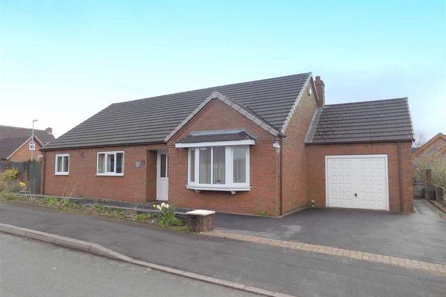 Thumbnail Detached bungalow for sale in Westwood Park Drive, Leek, Staffordshire