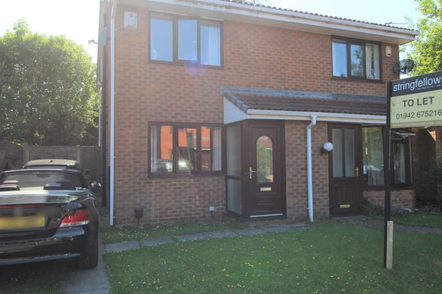 Thumbnail Semi-detached house to rent in Kilsby Close, Lostock, Bolton