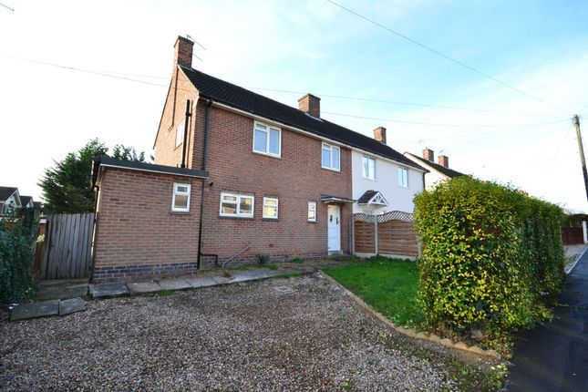 Thumbnail Semi-detached house to rent in Redhill Avn, Narborough, Leicester