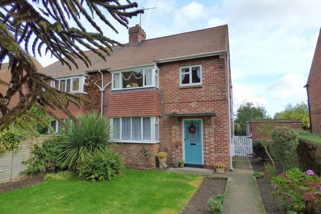 Thumbnail Semi-detached house for sale in Wold View, Brandesburton, Driffield