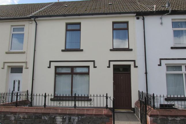 Thumbnail Terraced house for sale in Pantyscallog Terrace, Pant, Merthyr Tydfil