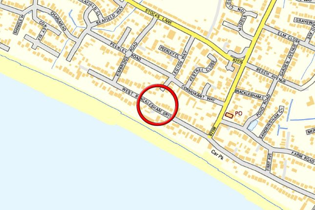 Street Map of Sea La Vie, Bracklesham Bay, W. Bracklesham Drive PO20