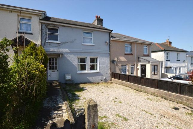 Thumbnail Terraced house to rent in Newman Road, Saltash, Cornwall