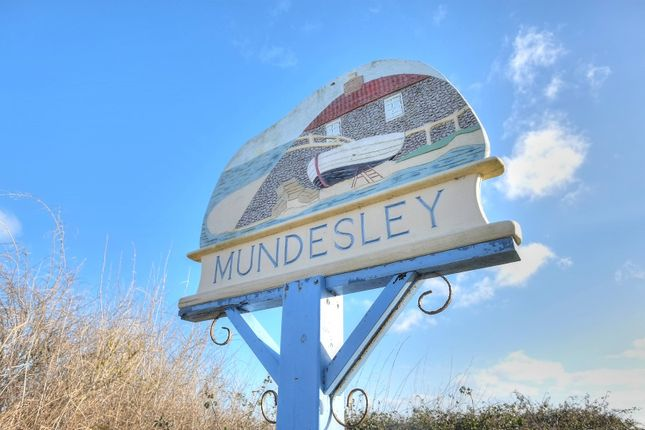 Thumbnail Semi-detached bungalow for sale in Sea View Road, Mundesley