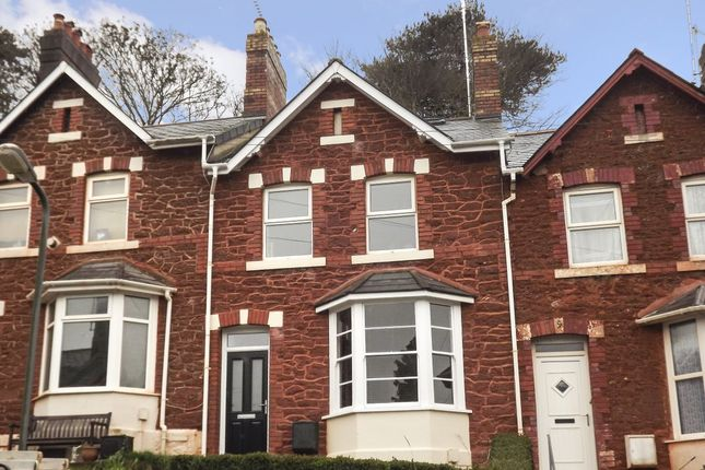 Thumbnail Terraced house to rent in Mallock Road, Torquay