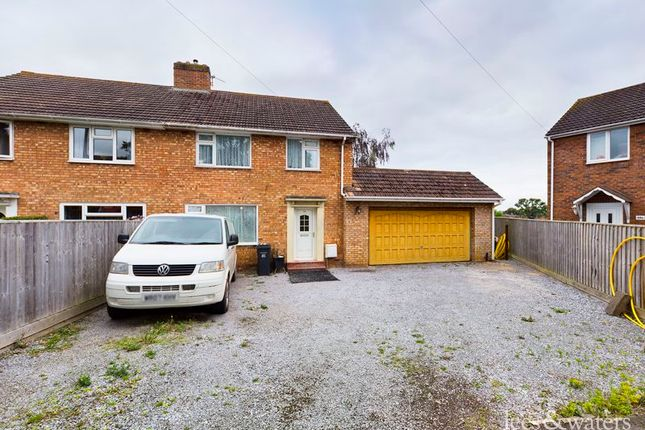 Thumbnail Semi-detached house for sale in Woodbury Road, Bridgwater