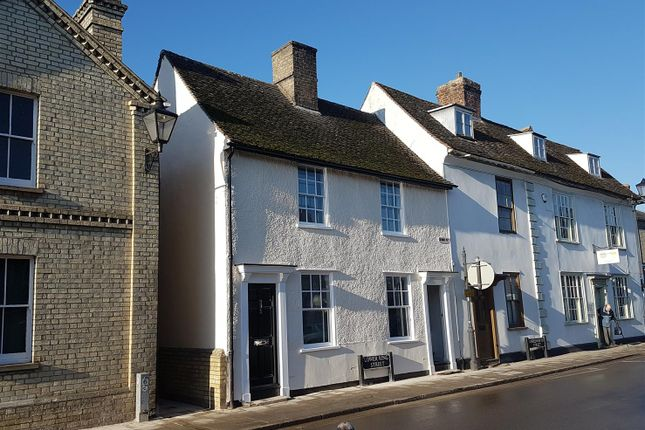 1 bed semi-detached house for sale in Lower King Street, Royston