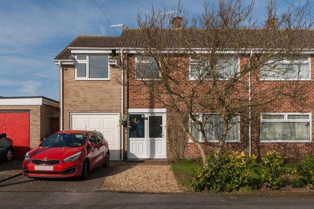Thumbnail Semi-detached house for sale in Byron Avenue, Royal Wootton Bassett, Swindon