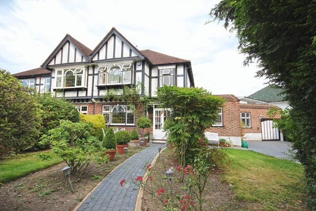 Thumbnail Semi-detached house to rent in Milne Field, Pinner