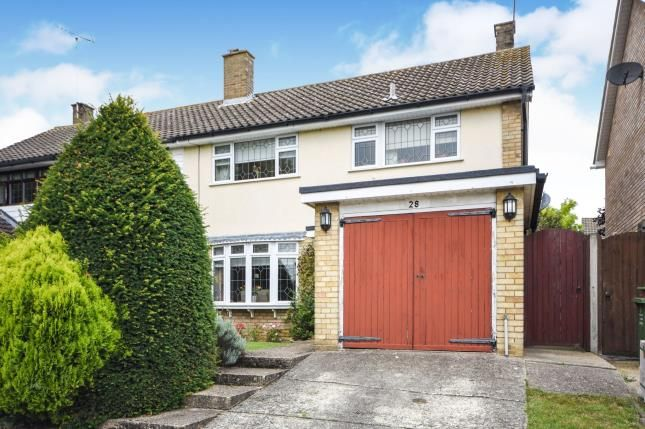 Thumbnail Semi-detached house for sale in Basildon, Essex